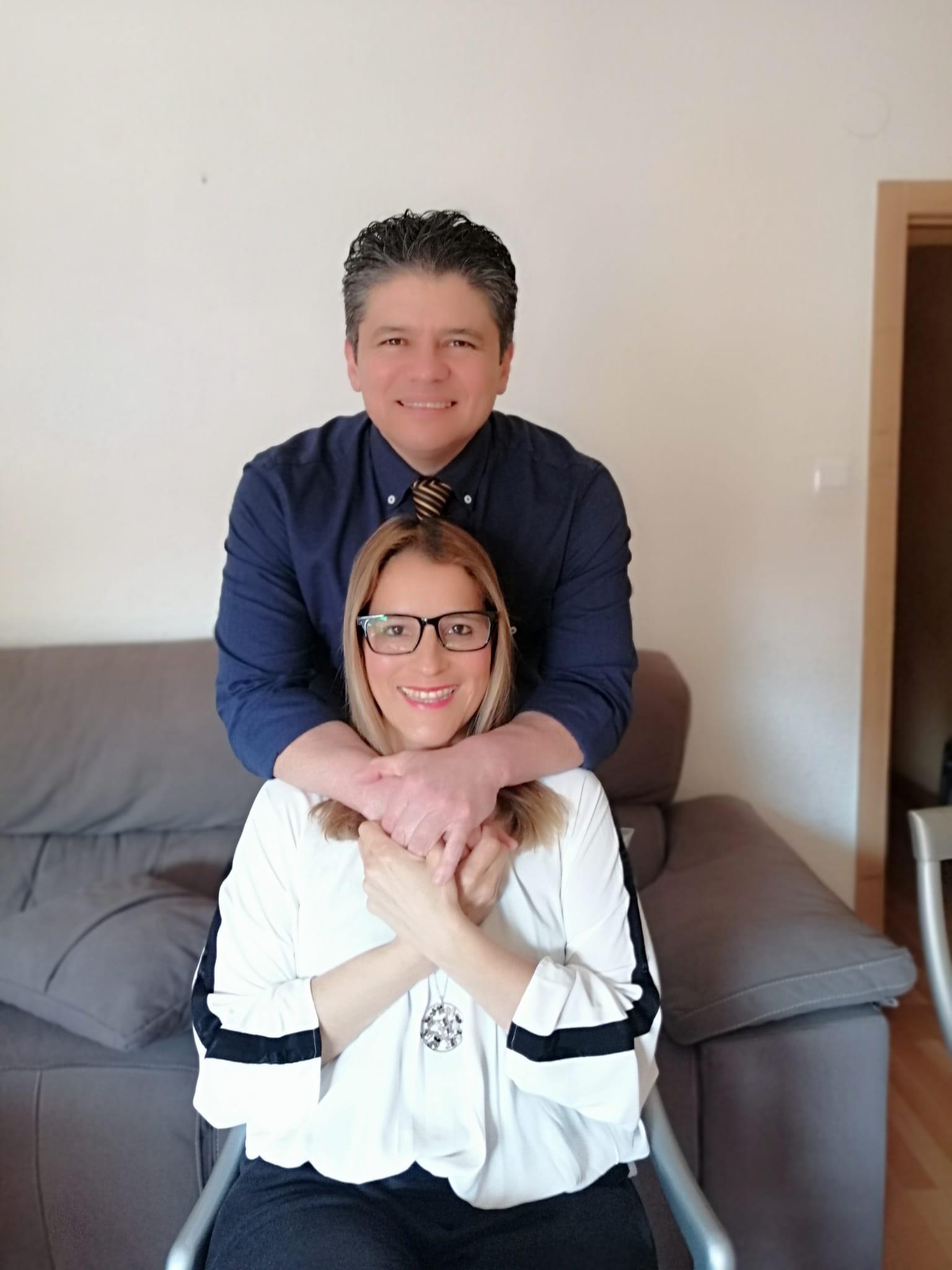 Orlando y María Fernanda